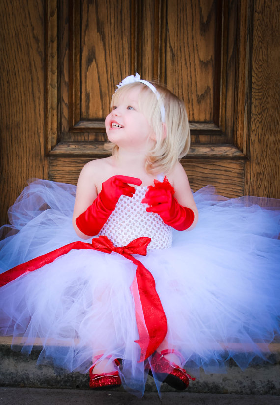 white baby tutu tulle bridesmaid flower girl wedding dress fluffy ball gown birthday evening prom cloth fashion party dress UK