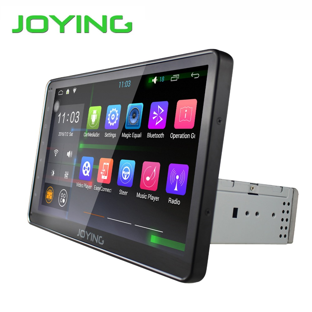 """Universal 10.1"""" inch One 1 Din Android 5.1 Touch screen Quad Core Car DVD GPS Navigation With Auto radio DABWIFI 4G Audio Stereo"""