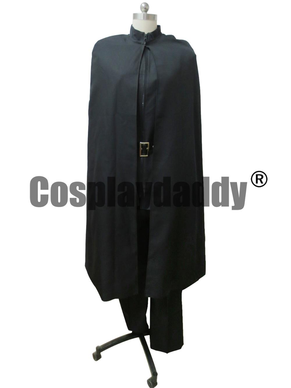 V FOR VENDETTA WEAVING V BLACK Cosplay COSTUME AND CAPE