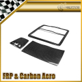 Car-styling For Nissan R35 GTR Carbon Fiber Map Light Surround Trim Set LHD 3pcs In Stock