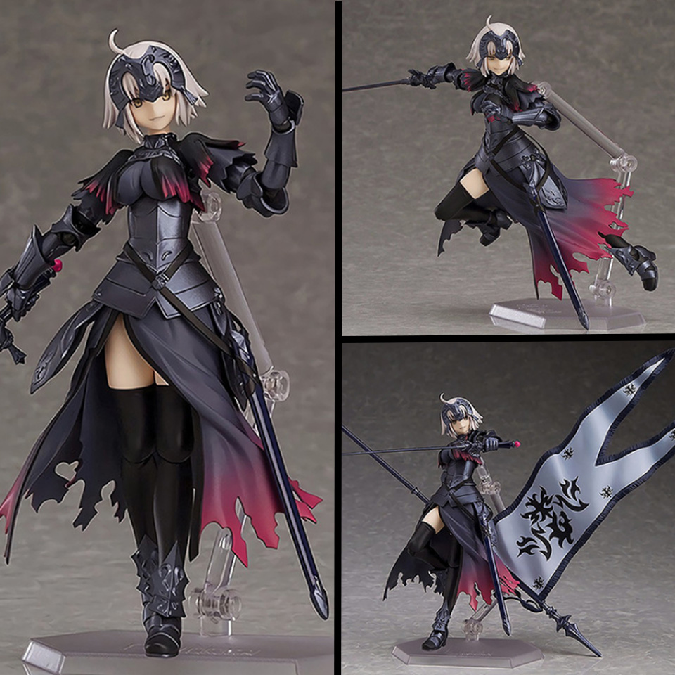 все цены на Tronzo Action Figure 15cm SHF Fate Grand Order Figure PVC Jeanne d'Arc Alter Figure Toys Figma 390# Collectible Model Toy онлайн