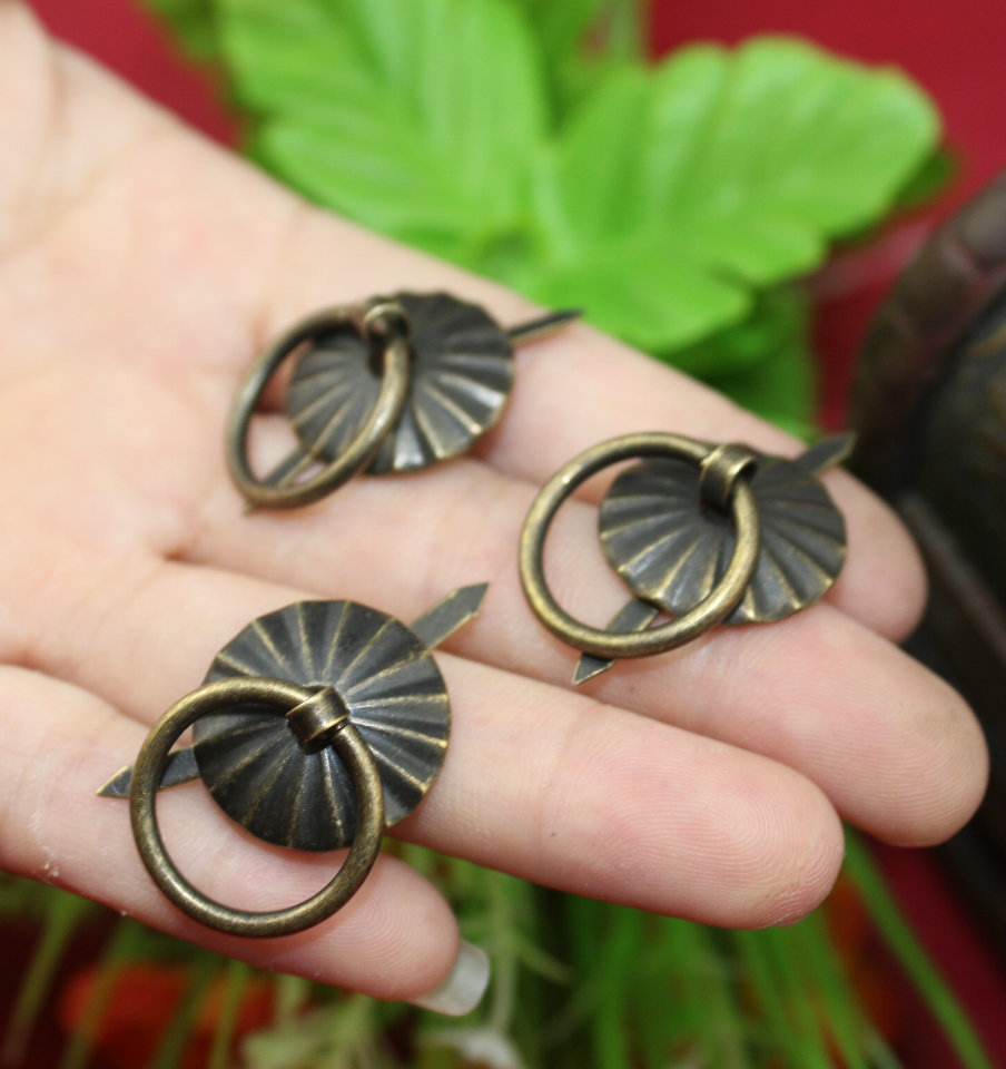19mm Metal furniture handle Antique drawer Drop Ring Dresser knobs Cabinet  Chest jewelry box Pull handleJewelry Box Pulls Promotion Shop for Promotional Jewelry Box Pulls  . Drop Ring Drawer Pulls. Home Design Ideas
