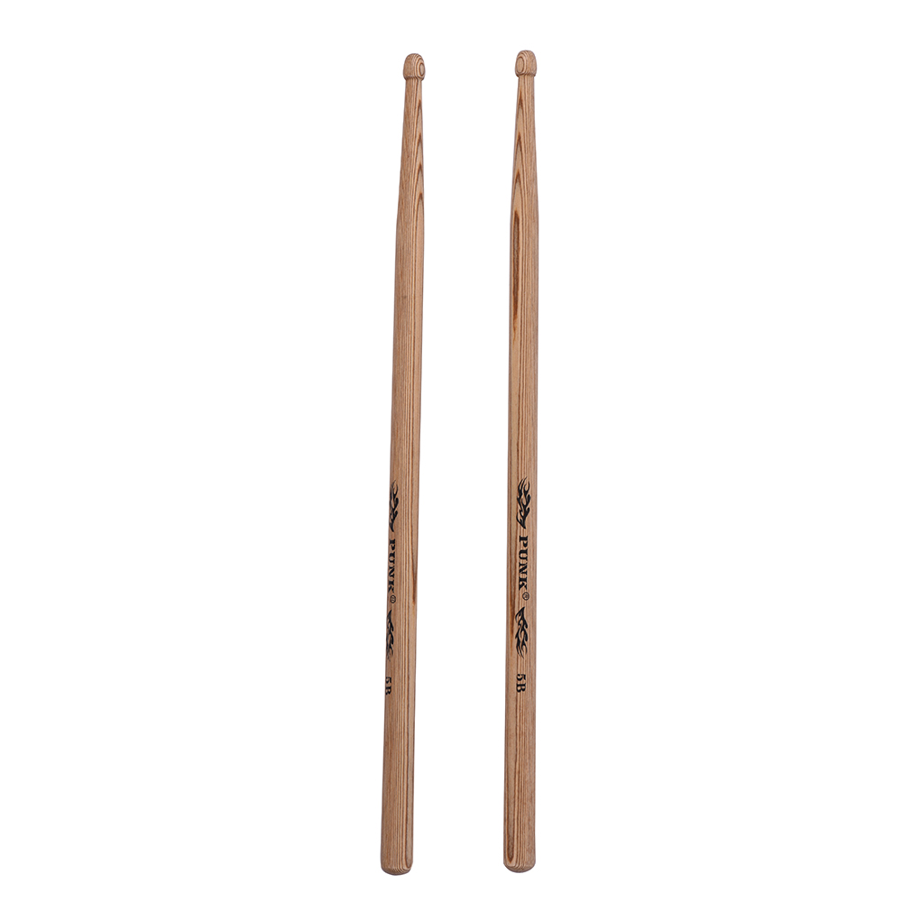 one pair of 7a wooden drumsticks drum sticks ash wood drum set accessories in parts. Black Bedroom Furniture Sets. Home Design Ideas