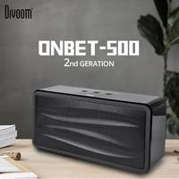 Divoom ONBET 500 беспроводной Bluetooth динамик Ретро античный HiFi дома высокой мощность открытый сабвуфер древесины звук 3d Surround