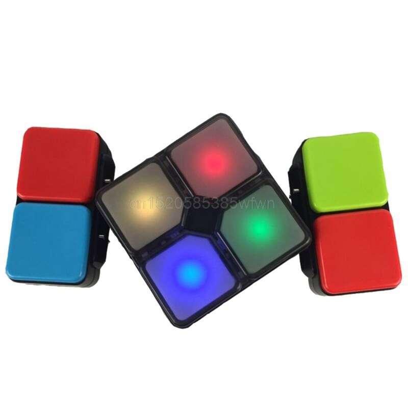 цена Music Cube Variety Magic Cube Infinity Toy Spinner Cubo Electronics DIY Gift J06 dropshipping