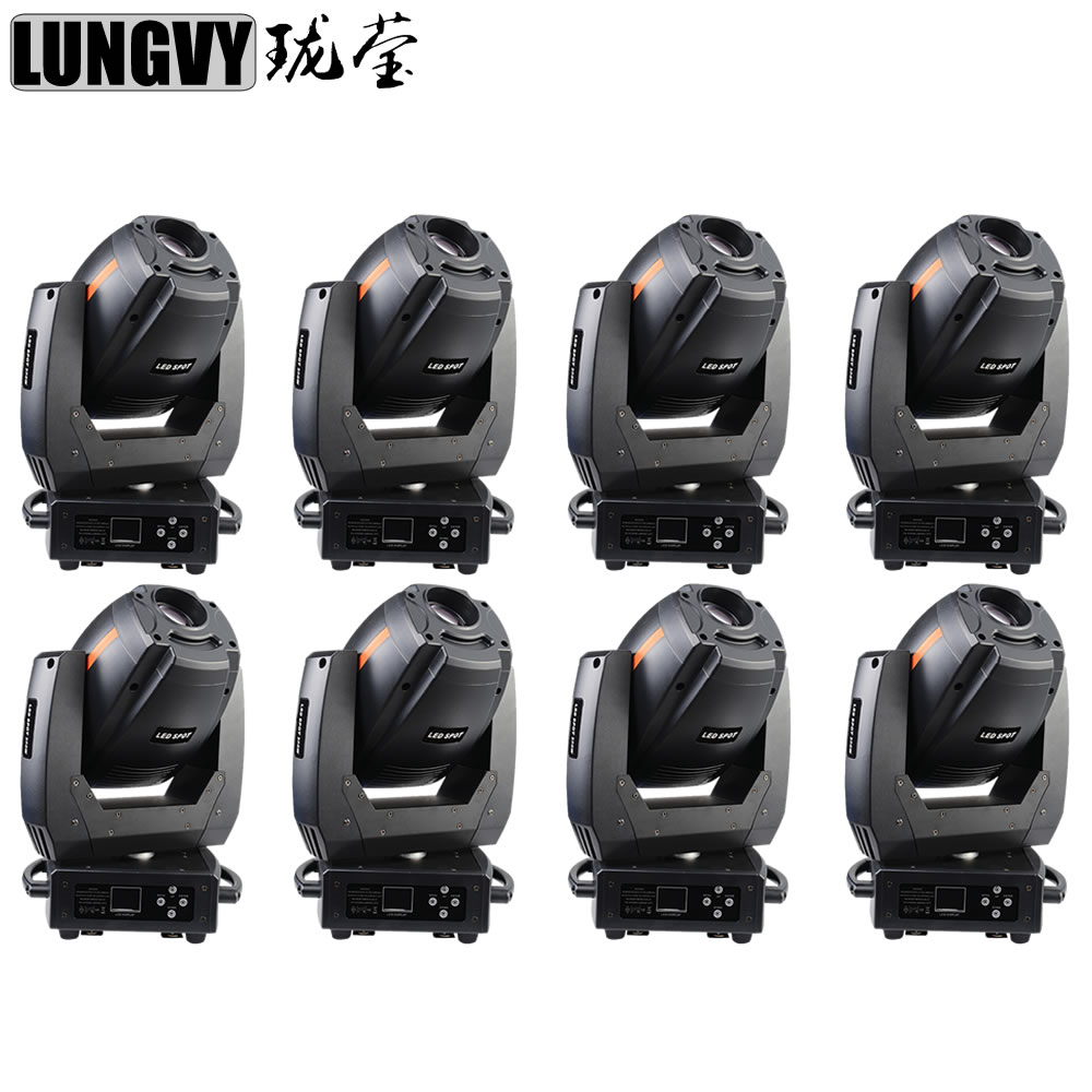 Free Shipping 8pcs/Lot Bright Dream High Power 300W LED Spot Moving Head  For Stage Party Concert Event Theater Studio Nightclub 8pcs lot free shipping best lighting led moving head spot led 90w moving heads factory price