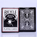 Black Spider Deck Bicycle Poker Ohio Magic Playing Cards Magia Deck Props 1pcs balck color 81275