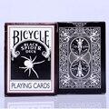 Negro Araña Cubierta Ohio Magia Cubierta de Bicicleta de Póquer Jugando A Las Cartas de Magia Props 1 unids balck color 81275