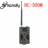 Skatolly HC 300M 1080P HD 12MP Video Night Vision HC300M Hunting Trail Camera MMS GPRS Scouting