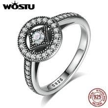 Nueva Llegada 100% Anillo de Plata de Ley 925 Encanto de Época Para Las Mujeres Compatible Con El Original de Lujo Fine Jewelry Anillo WST