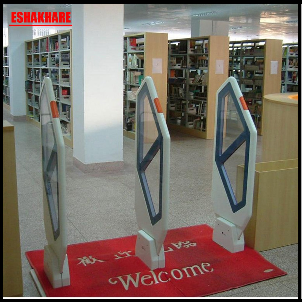 купить Library security tag system for university and book store,EM security alarm system with sound and light alrm