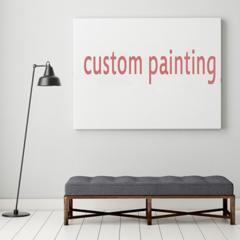SELFLESSLY ART Customed Painting Wall Art Print Posters Portrait Pictures For Living Room Canvas Painting Home Decor Unframed