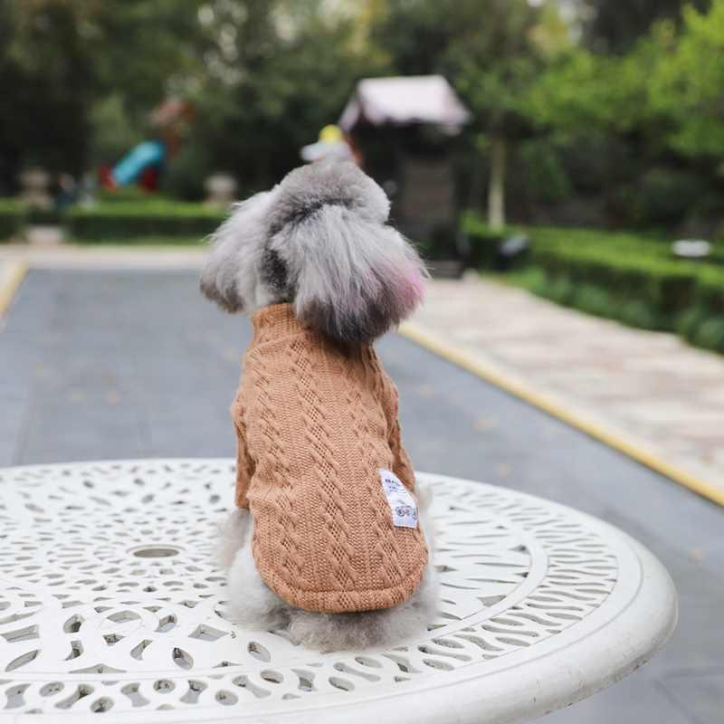 Automne hiver chaud chien vêtements pour grands petits chiens chat vêtements pour chien manteau pull chiens veste Chihuahua T-Shirt gilet pour animaux de compagnie