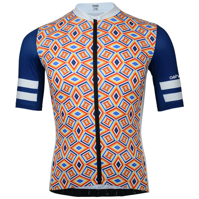 2018 cycling jersey summer short sleeve retro cycling jersey men MTB bike  shirt camisa maillot ciclismo Quick Dry Anti-sweat Hot 0c66c7574