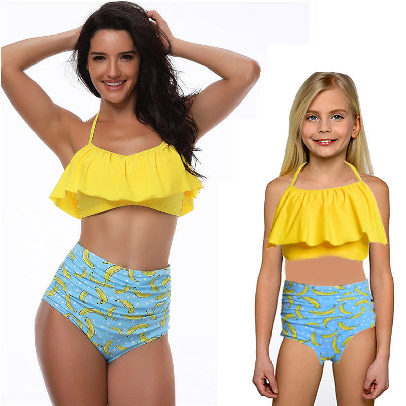 7766605aabbb4 Aliexpress.com   Buy 2018 Family swimwear mother kids swimsuit bikini set  couple swimsuit summer beachwear two pieces bodysuit family swimwear from  Reliable ...