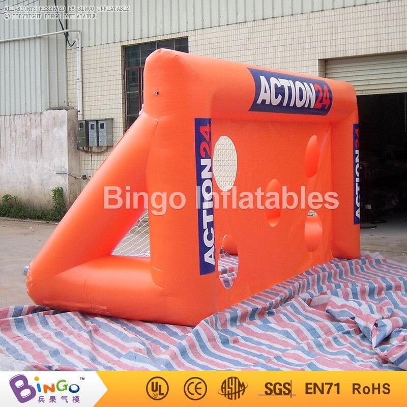 inflatable football soccer gate soccer goal game for children 5Lmx2Hm BG-G0009 sport games toy
