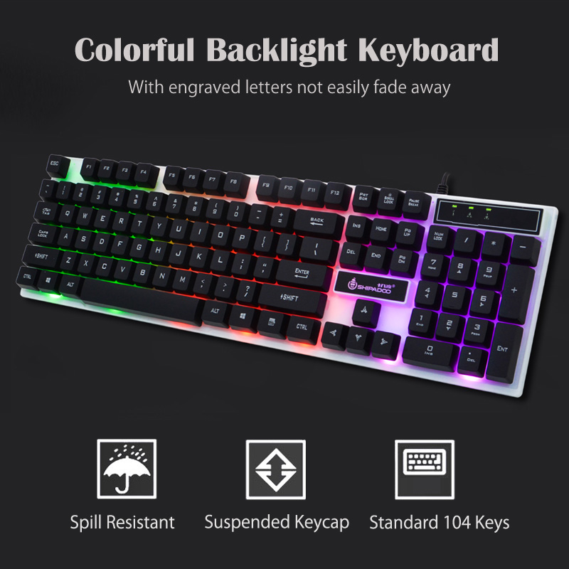 K280 USB Wired Computer Keyboard (2)