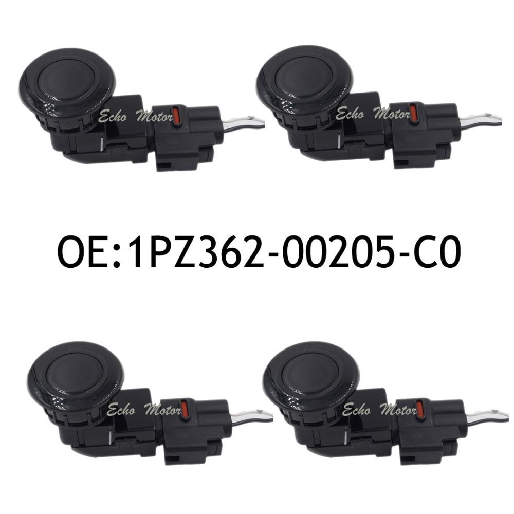 New 4pcs PZ362-00205-C0 188300-9630 Parking PDC Sensor For Toyota /Camry ACV30 ACV40 /Prado /Lexus RX /Previa PZ362-00209-C0 new set 4 89341 0c010 42342 parking ultrasonic sensor for toyota tundra 2014 2015 left right 0c010 42342
