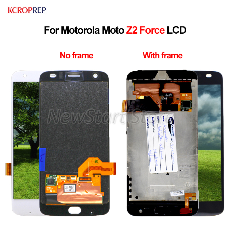 For Motorola Moto Z2 Force LCD Display Touch Screen Digitizer Assembly 5.5 100% New For Moto Z2 Force lcd Replacement AccessoryFor Motorola Moto Z2 Force LCD Display Touch Screen Digitizer Assembly 5.5 100% New For Moto Z2 Force lcd Replacement Accessory
