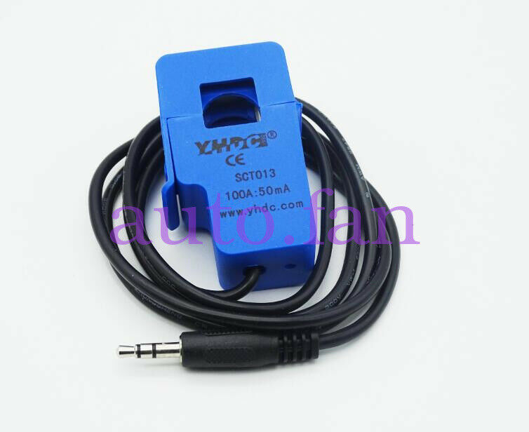 Applicable For 100A SCT-013-000 Non-invasive AC Current Sensor