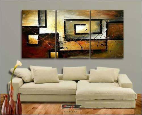 High Quality FreeShipping Hand-painted Group Oil Painting on Canvas Art <font><b>home</b></font> <font><b>decoration</b></font> 3pcs/set <font><b>asian</b></font> modern art