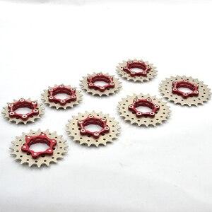 Image 5 - Fouriers 자전거 freewheel 단일 속도 freewheel bmx 스프로킷 기어 자전거 액세서리 16/17/18/19/20/21/22/23 t 자전거 freewheel