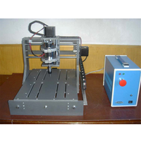 1PC 300w 3020 drilling and milling machine, CNC PCB carving machine ,Three axis 57 motor, U port dual parallel port
