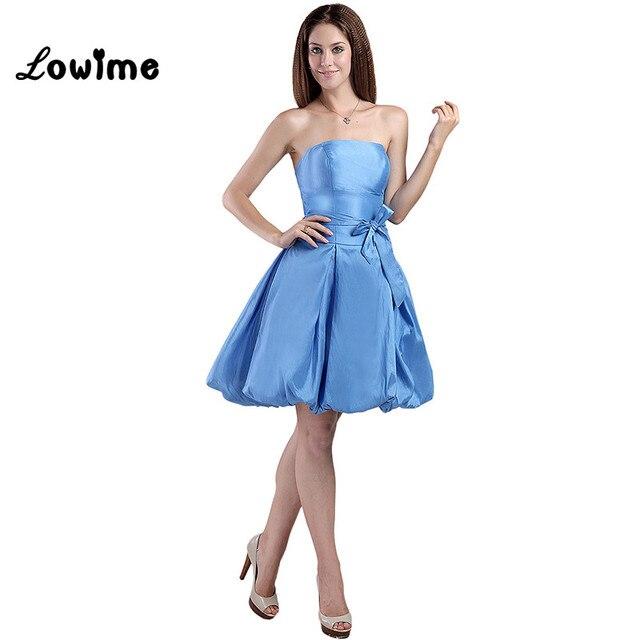 Corto Vestido Fiesta Robe Barato Azul Cóctel Atractivo De QoCWrxBde