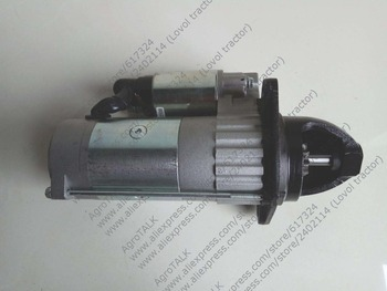 starter QD265 motor, 24V 5.5kW for China YITUO engine LR4105 ,LR4108G,