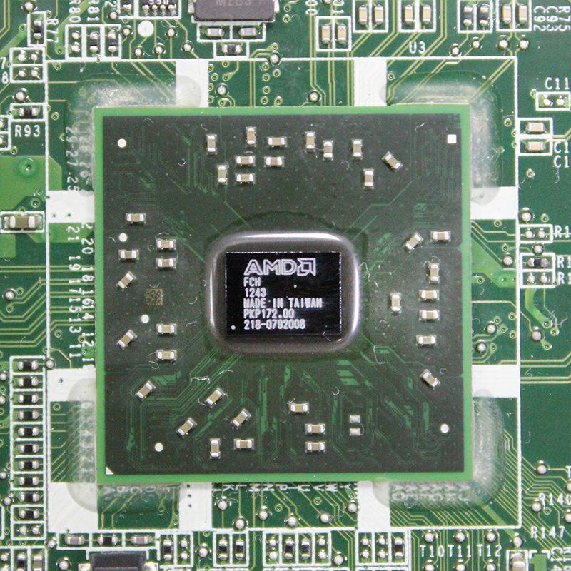 "Original For Lenovo AIO C325 C225 20"" desktop motherboard AMD E350 CPU DDR3 DA0QUDMB6E0 90000074 Free shipping  fully Tested 4"