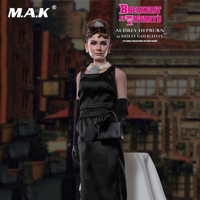 Collectible Full Set Audrey Hepburn Figure Model Toys 1/6 Scale Action Figure Model Toys Normal Version for Collection Gift