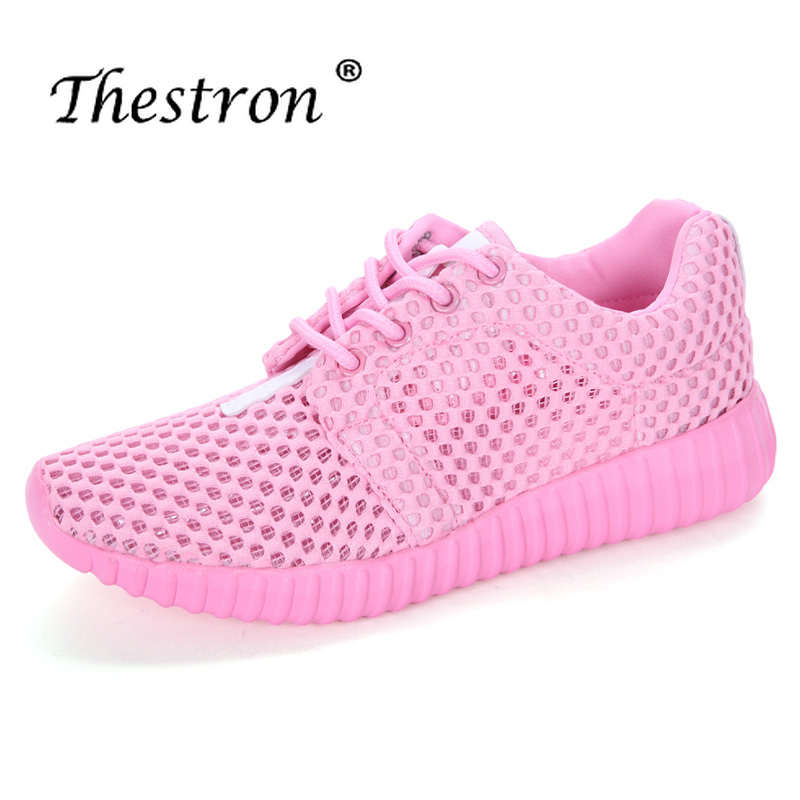 2019 Spring/Summer Luxury Nice Sport Shoes For Women Lightweight Mesh Running Sneakers Women Black Pink Walking Jogging Sneakers