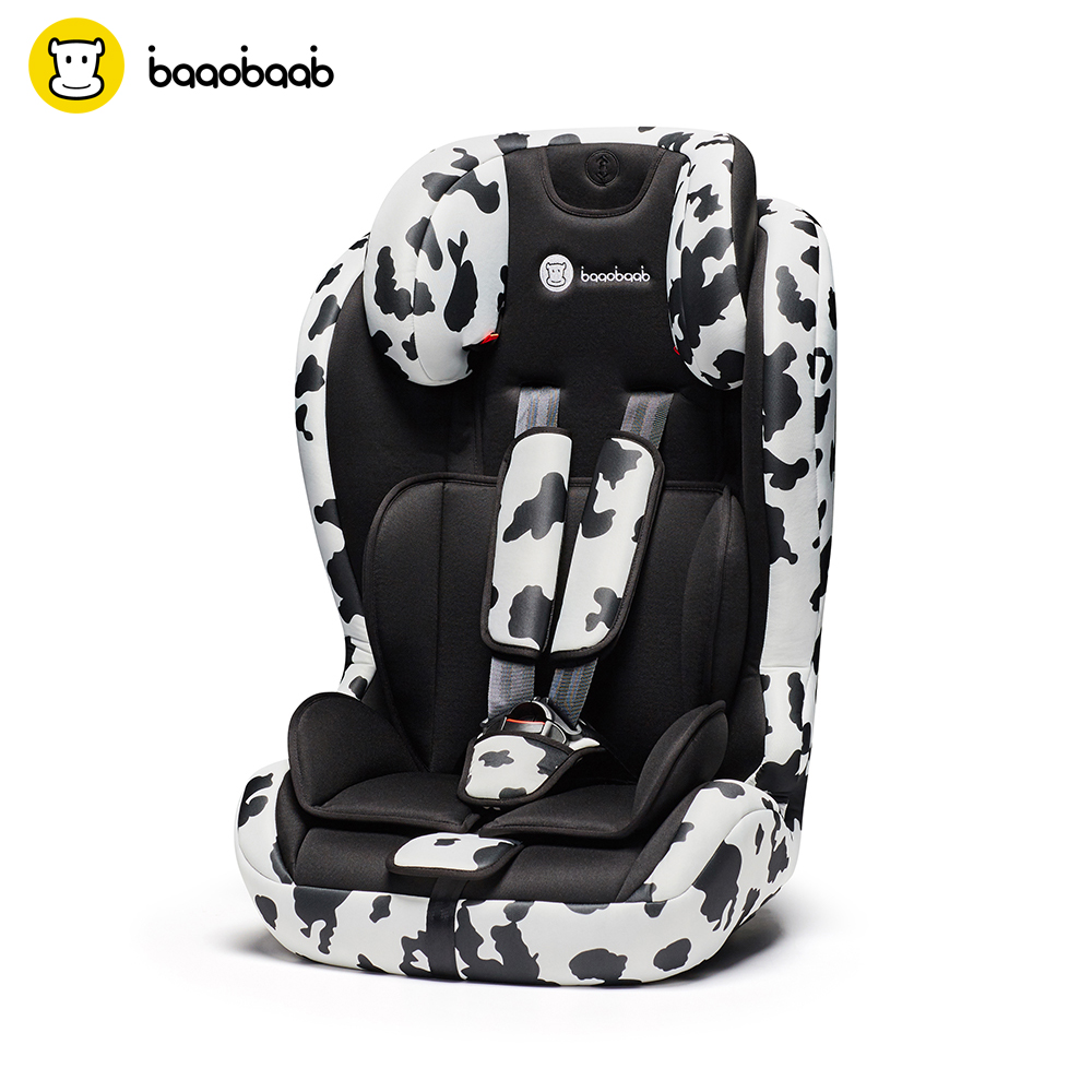 Baaobaab 750 2-in-1 ISOFIX Connector Car Seat 9-36 kg Portable Baby Children Booster Safety Seat Group 1 2 3, 9 months-12 Years зелёный цвет 1 3 months