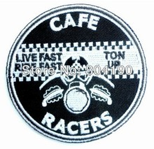 Cafe Racer RacersตันUp 59 Rockers CLUB TRIUMPH BIKER PATCHเย็บปักถักร้อยรถจักรยานยนต์แฟชั่นเสื้อผ้าBadge Applique
