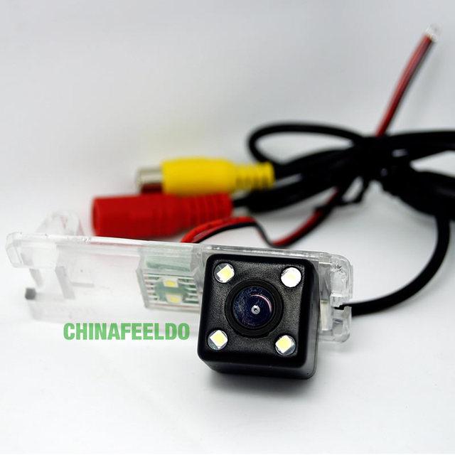 Ccd câmera de visão traseira do carro com luz LED para BUICK PARK AVENUE / CHEVROLET vela # J-4048