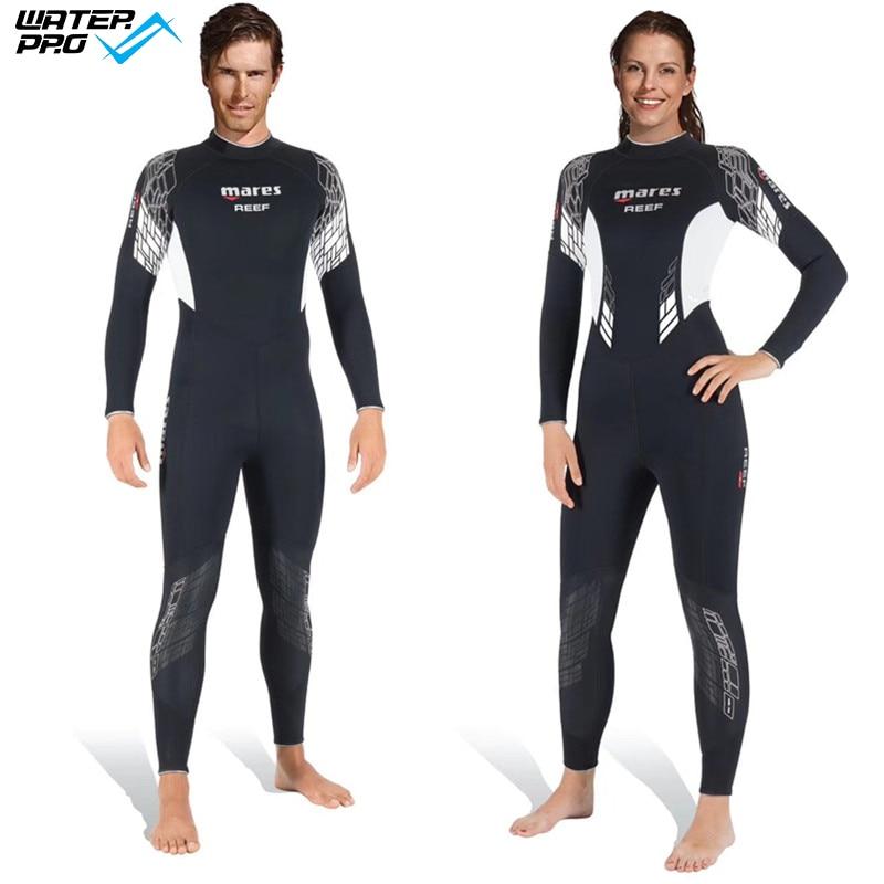 Mares Reef 3mm Neoprenanzug für verschiedene Wassersportarten für - Sportbekleidung und Accessoires - Foto 1