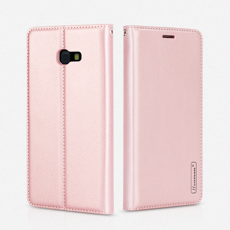 Hanman for Samsung Galaxy A7 2017 A720 Book Style Retro Pattern Leather Wallet Case Card Slot for Samsung Galaxy A7 2017 A720F