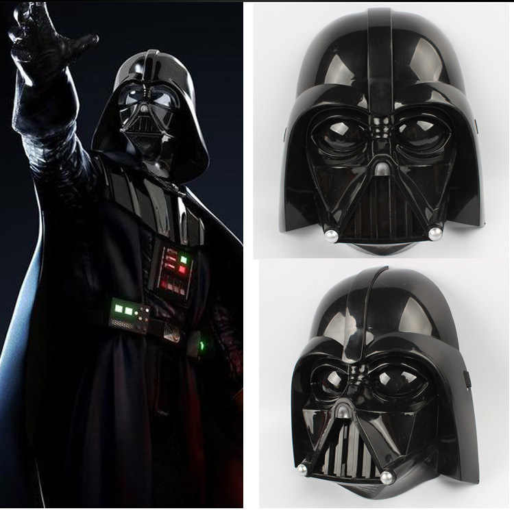 Empire Clone Tentara Topeng Bercahaya Star Wars Masker LED Light Helm Halloween dan Natal PV Darth Vader Masker