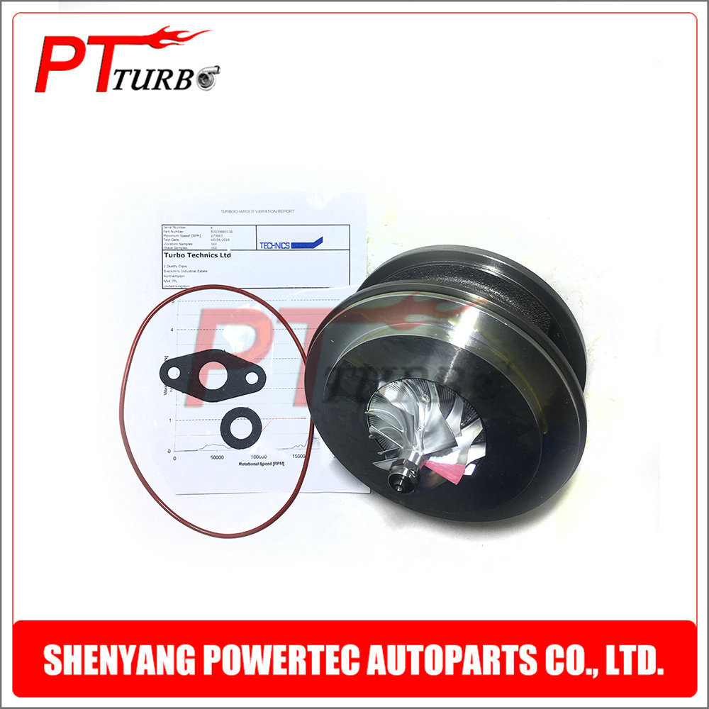 Turbocharger turbo kit BV43 cartridge core CHRA turbine 53039880131 53039880138 53039880189 for Seat Exeo 2 0