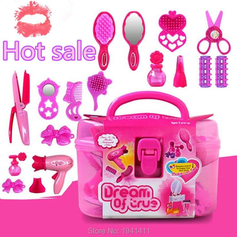Furniture Dolls Children S Cosmetics Kids Pretend Play Vanity Play