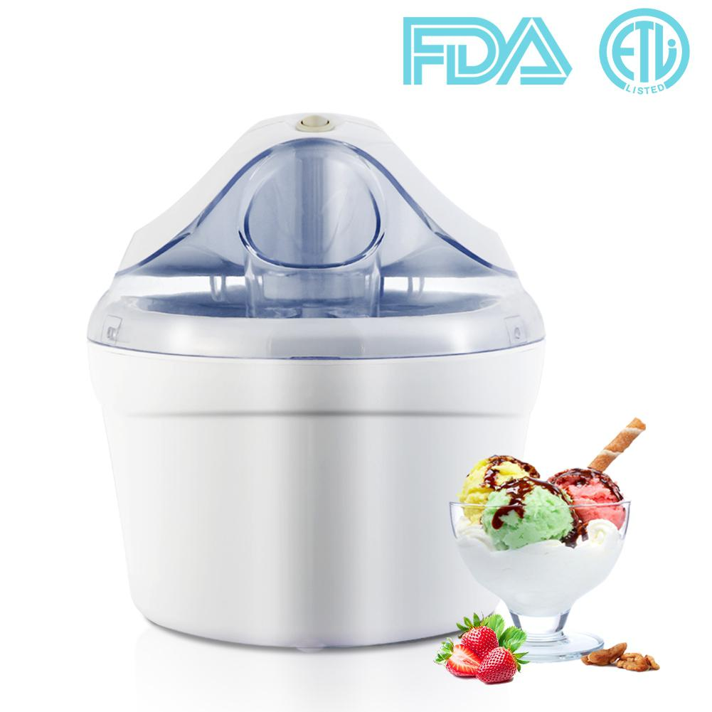 Aucma Home Use Ice Cream Maker Gelato Maker Machine 1.5 Quart Frozen Yogurt Soft Serve Ice Cream Sorbet Maker Machine eu popular soft serve ice cream maker machine desk top ice cream machine for sale