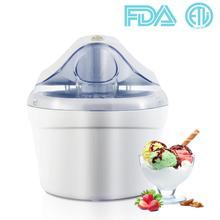 Aucma Home Use Ice Cream Maker Gelato Maker Machine 1.5 Quart Frozen Yogurt Soft Serve Ice Cream Sorbet Maker Machine home appliance