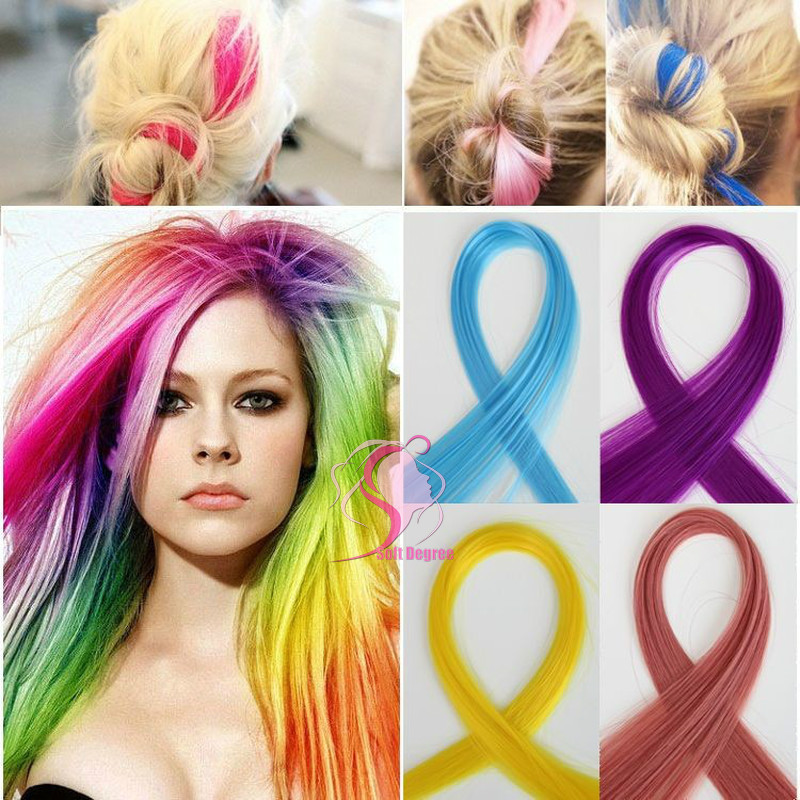 Softdegree Hair 2014 Limited Top Fasion Clip In For Pink Hair