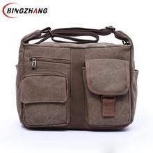 2017 nouvelle toile sac à main hommes oblique satchel hommes messenger sac d'épaule sac bandoulière sacs mode L4-3025