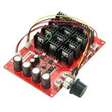 Cc 10 50 v 60A contrôle de vitesse du moteur Ler contrôle PWM HHO interrupteur RC Extender 12 V 24 V 48 V 3000 W module