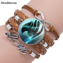 Fairy Tail Leather Bracelet Bangle