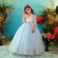 Формальные подростков Нарядные платья для девочек брендовая одежда для девочки ясельного возраста для маленьких девочек наряд для дня рож