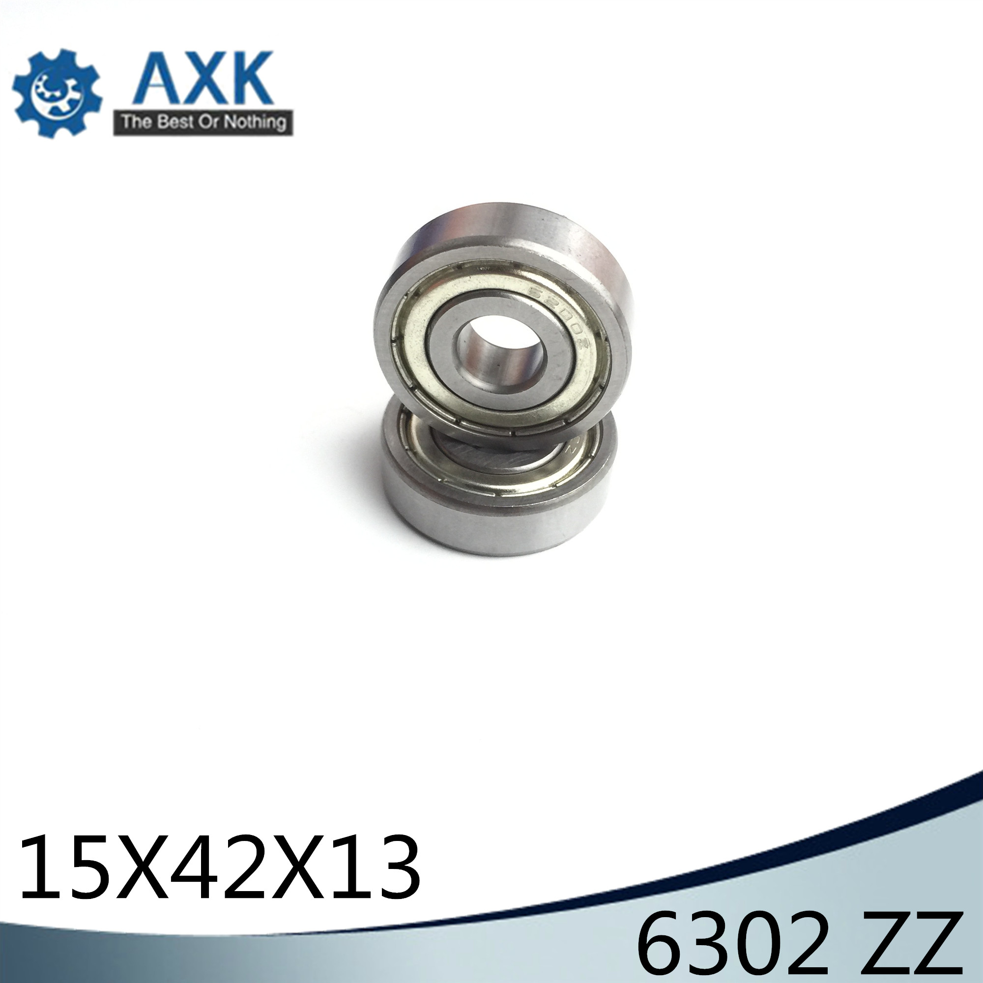 Competent 6302zz Bearing 15*42*13 Mm Abec-3 4 Pcs For Blower Vacuums Saw Trimmer Deep Groove 6302 Z Zz Ball Bearings 6302z