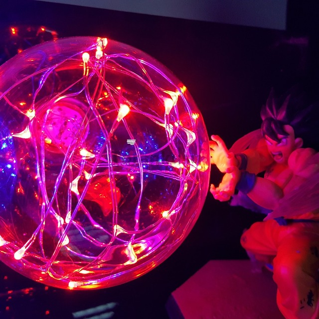 GOKU VS VEGETA LED LIGHTING LAMP