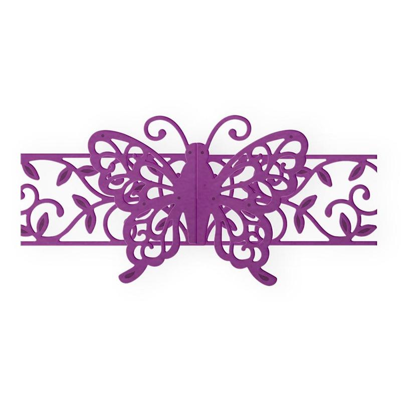 2x Butterfly Cutting Dies Stencil Album Paper Card Craft DIY Scrapbook Embossing